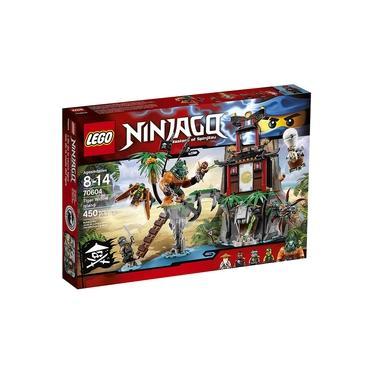 Lego Ninjago Ilha Da Viuva Tigre 70604