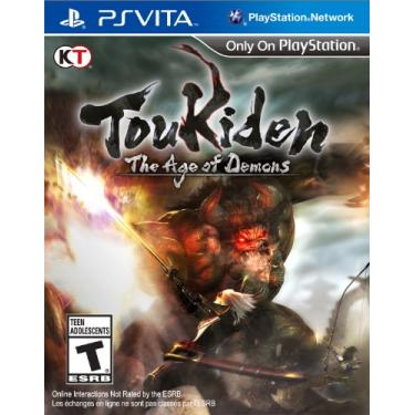 Jogo PS Vita Toukiden The Age Of Demons - KT