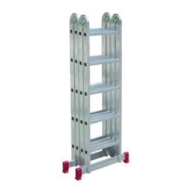 Escada SUPER Articulada Multifuncional 20 DEGRAUS Alumínio 13 posições