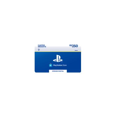 Gift Card Digital Playstation Store R$ 250 Exclusivo Brasil