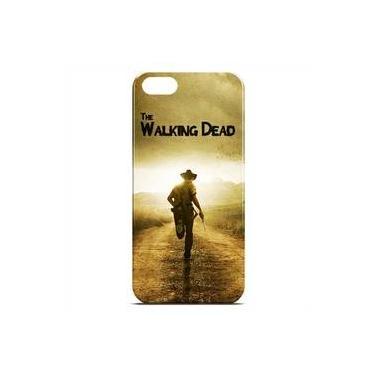 Capa Para Iphone 5 E 5s De Plástico - The Walking Dead   Rick