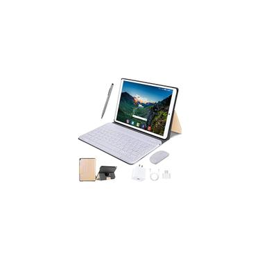 Imagem de Tablet 10 Inch 4G lte, 4GB ram + 64GB rom Android 10 Quad Core Processor, Dual Camera Dual sim Card Slots Unlocked, 1080p Full HD Touch, Bluetooth8000mAh, WiFi,10.1 inch Tab Importado