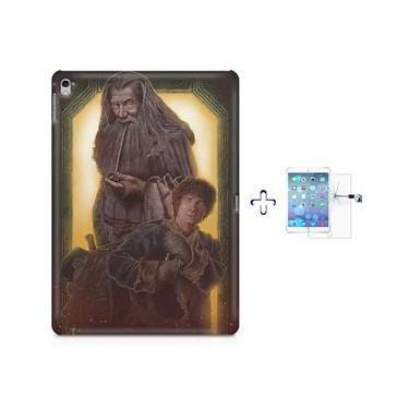 "Kit Capa Case TPU iPad Pro 9,7"" - O Senhor dos Aneis Lord of The Rings Hobbit (BD02)"