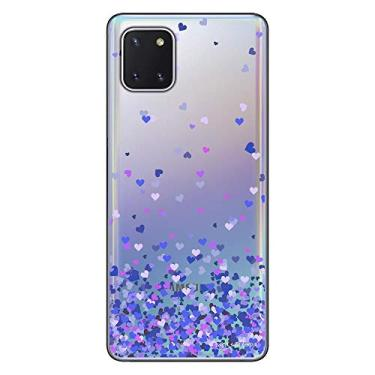 Capa Personalizada Samsung Galaxy Note 10 Lite - Corações - TP170