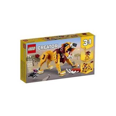 Imagem de LEGO® Creator 3 Em 1 - Leão Selvagem
