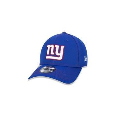Bone 39Thirty Fechado Nfl On-Field Colecao Sideline New York Giants Aba Curva Royal New Era