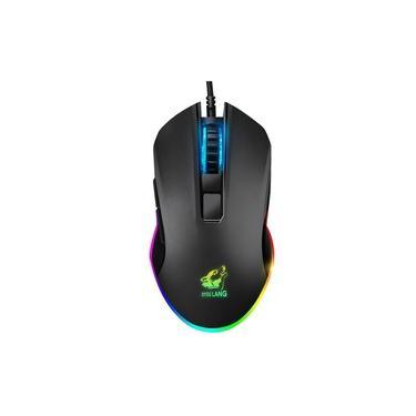 V1 Gaming Mouse Wired Rgb Luz 8 botões programáveis ¿¿Jogo Design Ergonômico