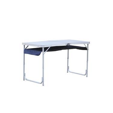 Mesa Dobrável em Alumínio com Organizador Top - Nautika 291100