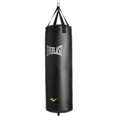 Saco Boxe Pancadas Everlast Cheio 18kg - 71x30cm Sh4004wb
