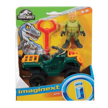 Imaginext Jurassic World Atv Technician - Mattel