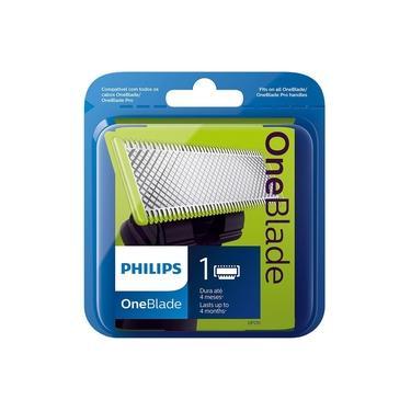 Lâmina Para Aparelho De Barbear Philips Oneblade Qp210/50 Para Séries Qp25 E Pro Qp65