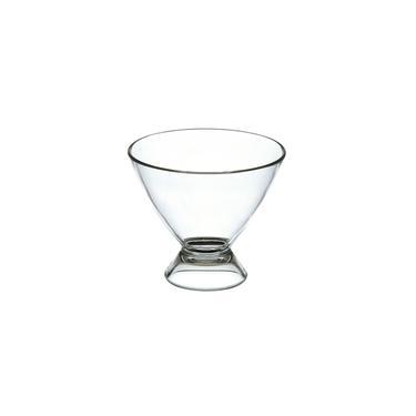 Taça para Sobremesa KOS Acrílicos Transparente 250 ml - Cada