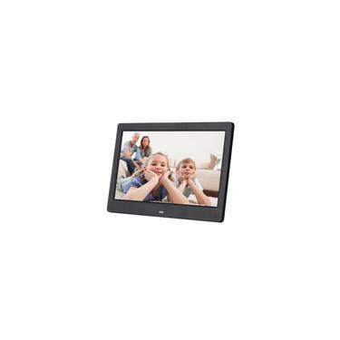 Álbum de fotos eletrônico com moldura digital com tela lcd widescreen de 10 polegadas