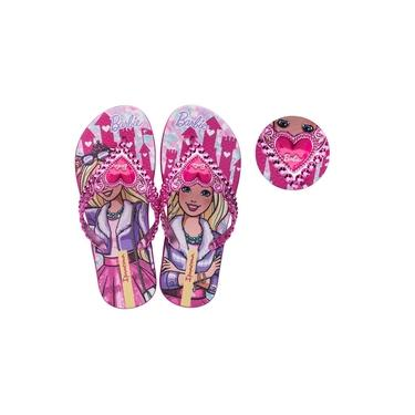 Chinelo Barbie Princesa Ipanema Rosa 018625