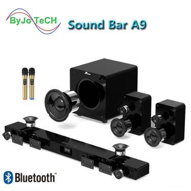 Imagem de Jy audio-soundbar bluetooth, a9, som surround 5.1, home theater, 8 partes, integrado, tv,