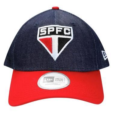 78f7fe49ac Boné New Era Aba Curva Original SPFC BON205 - Marinho