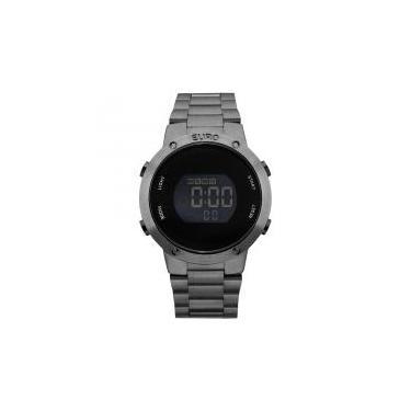 2043450dc10 Relógio Euro Feminino Ref  Eubj3279ae 4k Digital Black