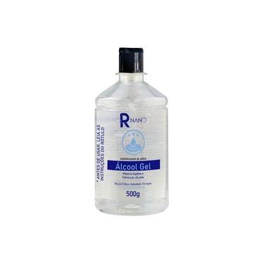 Álcool 70% Gel Etílico Higienizante e Hidratante de Mãos com Aloe Vera 500ml