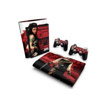 Skin Adesivo para PS3 Super Slim - Red Dead Redemption