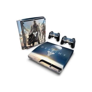 Skin Adesivo para PS3 Slim - Destiny