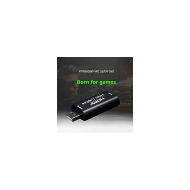 Hdmi à Placa De Captura De Vídeo Usb 1080 P Grabber Game/vídeo Streaming Ao Vivo