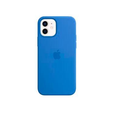 Capa para iPhone 12 e 12 Pro de Silicone com MagSafe Azul Capri - Apple - MJYY3ZE/A