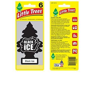 Aromatizante Little Trees Black Ice