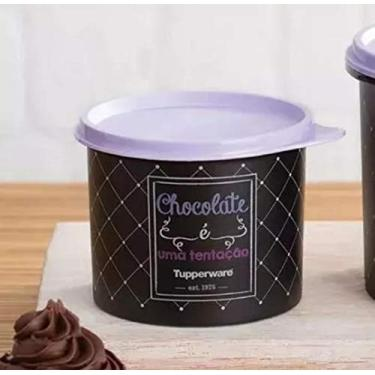 Tupperware Redondinha Chocolate Bistrô 500ml!
