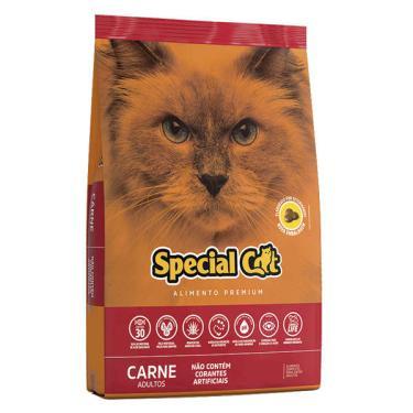 Ração Special Cat Premium Carne para Gatos Adultos - 20 Kg