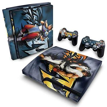 Skin Adesivo para PS3 Slim - Street Fighter 4