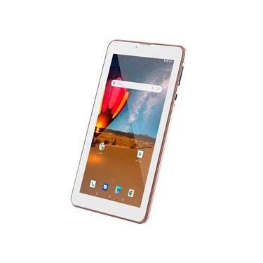 "Tablet Multilaser M7 3G Plus 7"" rosa com 16GB Rom 1GB RAM"