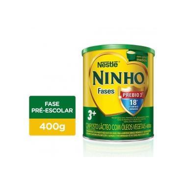 NINHO Fases 3+ Composto Lácteo Lata 400g