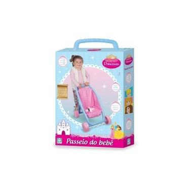 Imagem de Carrinho De Boneca Passeio Do Bebê Princesas - Nig 0790
