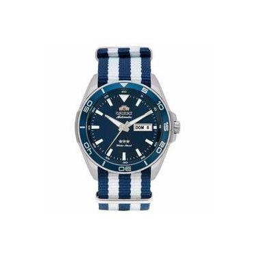 8ff9448a861 Relógio Masculino Orient Automatic Analógico 469ss064 D1bd Pulseira Em Nylon