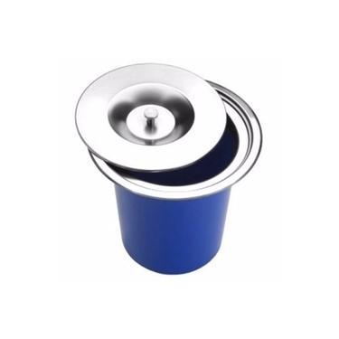 Lixeira Pia Cozinha Embutir 5 Litros Inox