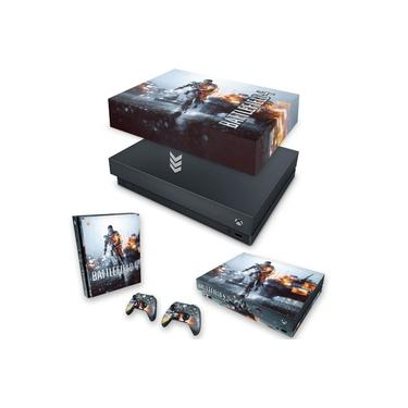 Capa Anti Poeira e Skin para Xbox One X - Battlefield 4