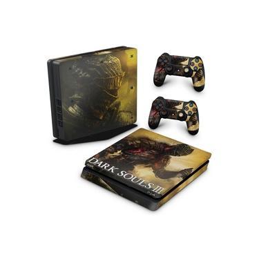 Skin Adesivo para PS4 Slim - Dark Souls 3