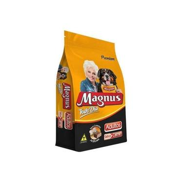 Ração Magnus Todo Dia Sabor Carne Para Cães Adultos 20Kg