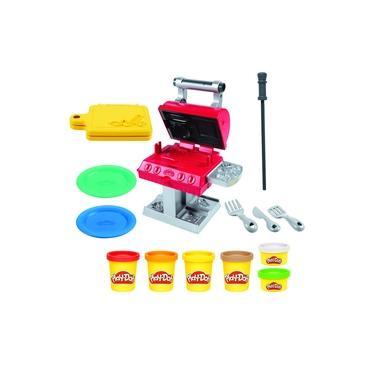 Imagem de Conjunto Massinha de Modelar Play-doh Dia de Churrasco com 6 Potes F0652 - Hasbro