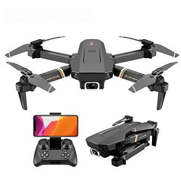 Imagem de XUANWEI Mini Controle Remoto de Avião Drone Fotografia Aérea Fotografia Aérea 4K HD sem Fio Wifi Quadcopter Câmera Aérea Dobrável