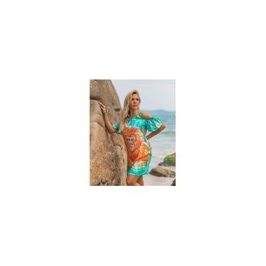 Imagem de Vestido Mico Leão Dourado Papaya Ref 10959