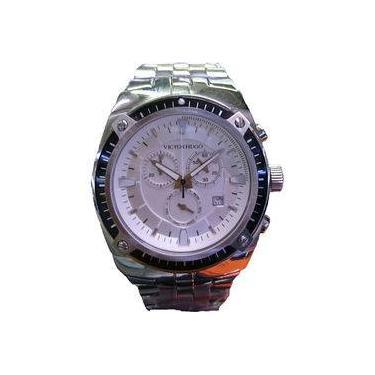 0bcd986720b Relógio Victor Hugo Mostrador Prata - Vh10047gss 04m
