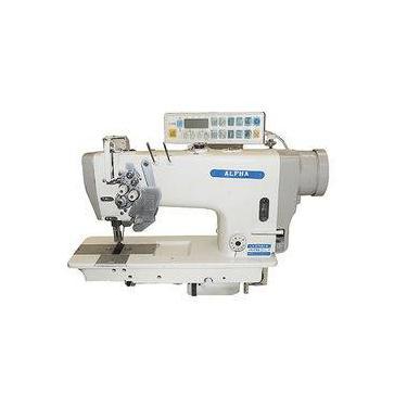 Máquina De Costura Pespontadeira Industrial C/ Direct Drive,Alternada, 2 Agulhas, 2 Fios, Lanç. Grande, 3000rpm-Alpha