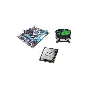 Kit Placa Mae 1155 H61 + Processador Core I3 3220 3.3 + Cooler