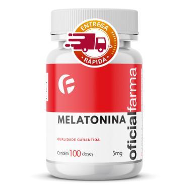 Melatonina 5Mg 100 Doses Oficialfarma