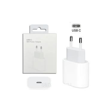 Fonte Carregador Rápido Turbo 18w iPhone 8 X XR XS 11 12