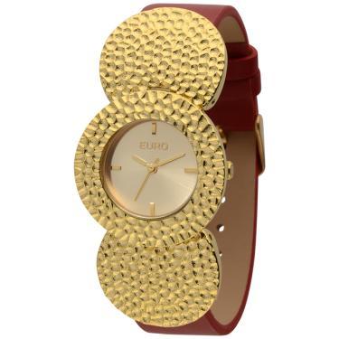 f6ca4b64b765f Relógio de Pulso Euro   Joalheria   Comparar preço de Relógio de ...