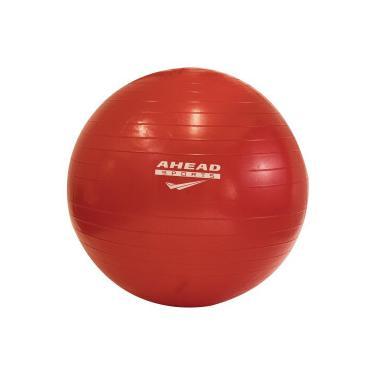 Bola de Pilates Suiça Ahead Sports - 55 cm - VERMELHO Ahead Sports 39e487bd74398