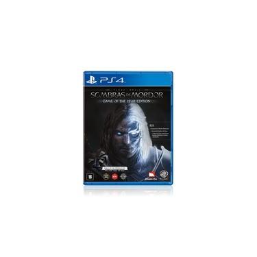 Jogo Game Sombras Da Guerra Terra Média - Ps4