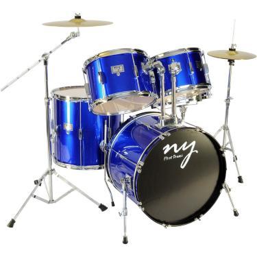 Imagem de Bateria Acústica 2T Azul Ny-F1rst